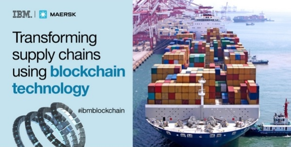 IBM supply chains by blockchain