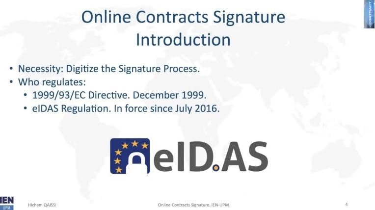 reglamento eiDAS firma contratos online
